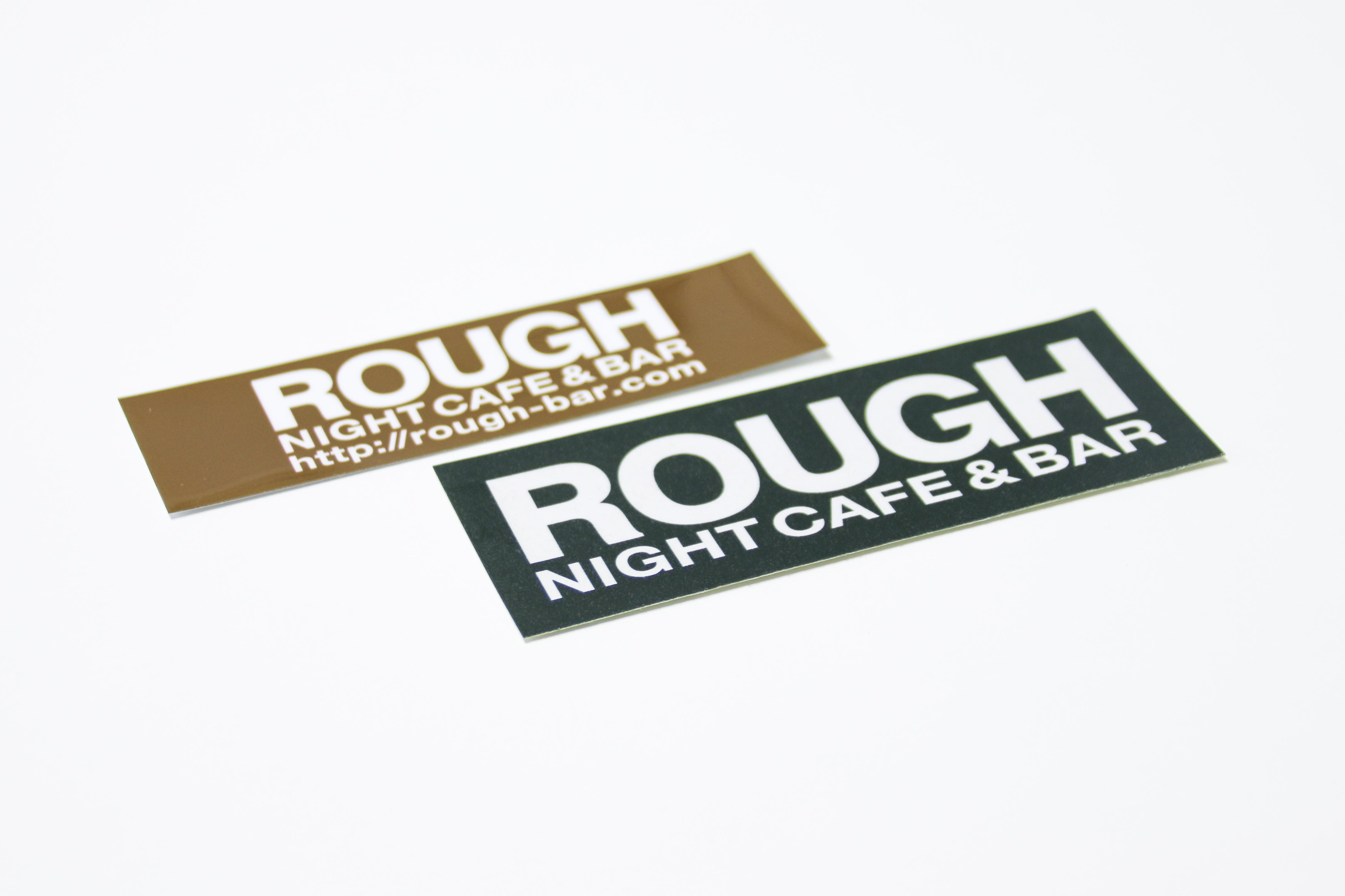 ROUGH NIGHT CAFF & BAR ステッカー