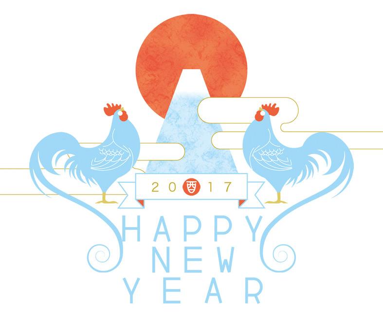 ファインワーク 2017酉年イメージ