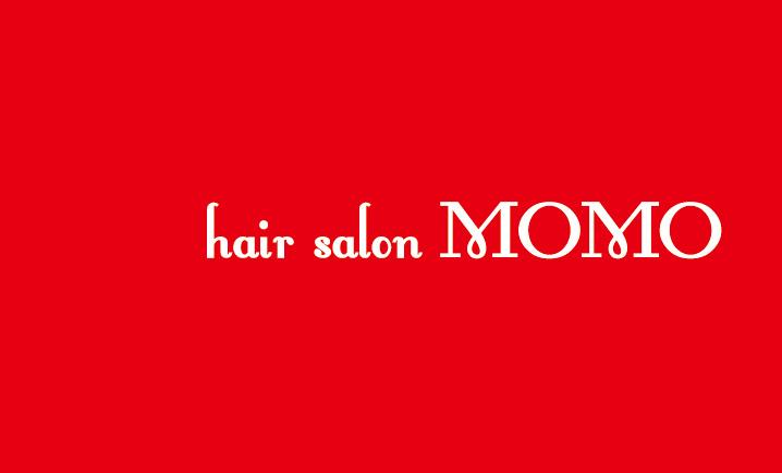 ショップカード hair salon MOMO