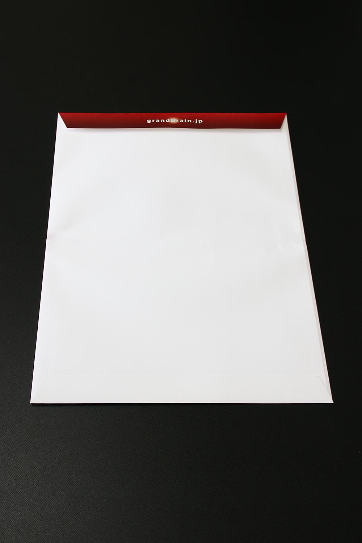 角2封筒 デザイン 裏