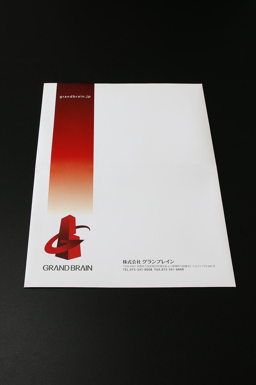 角2封筒 デザイン 表