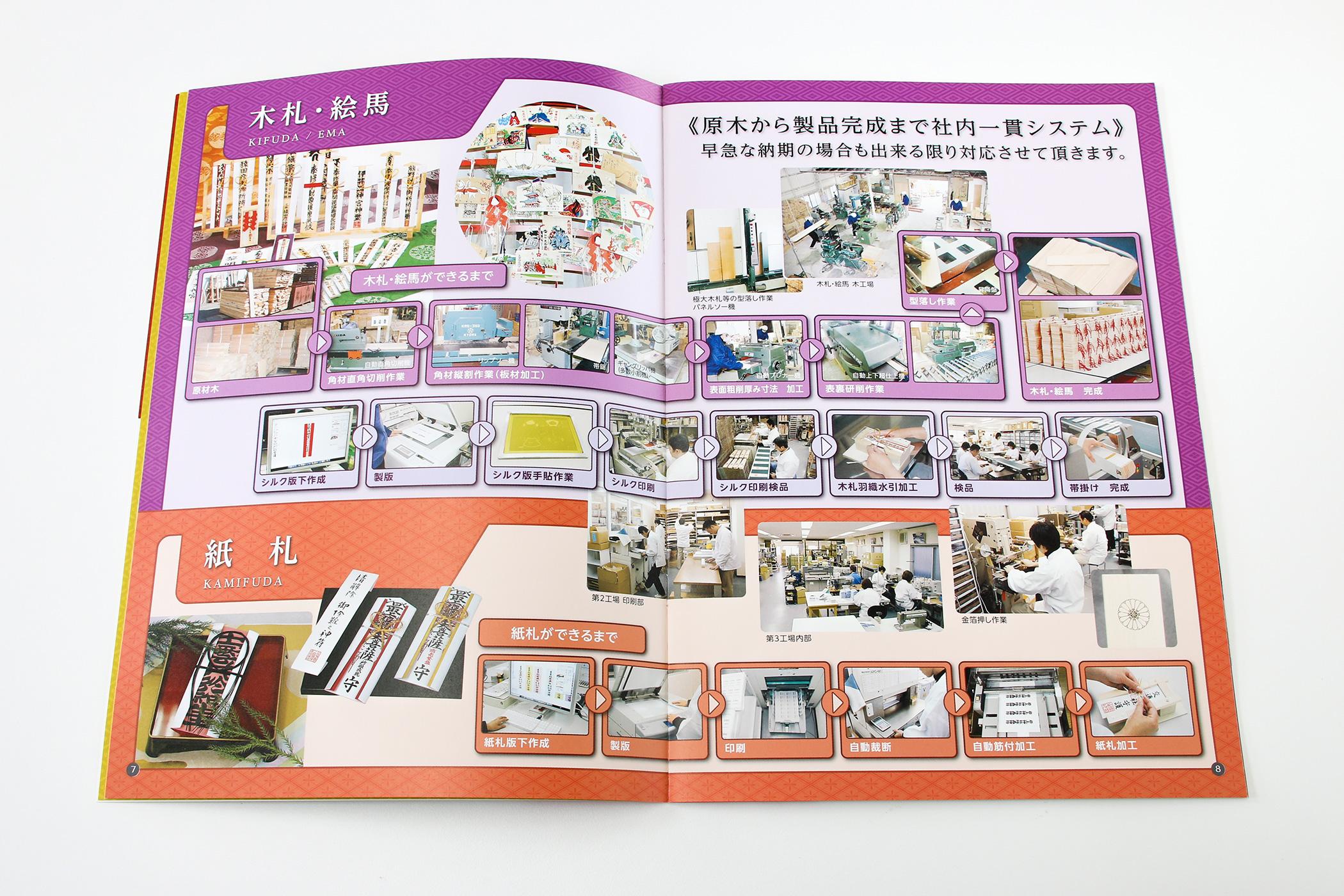 東和奉産株式会社-会社案内-木札・絵馬商品
