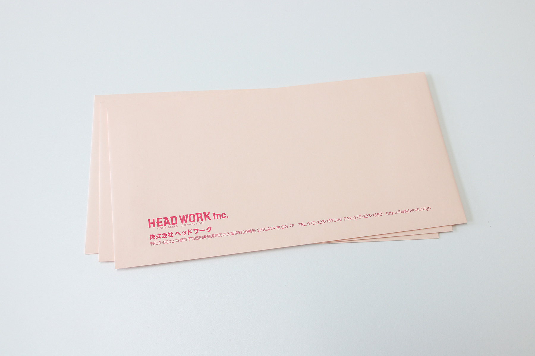 洋長3封筒 デザイン