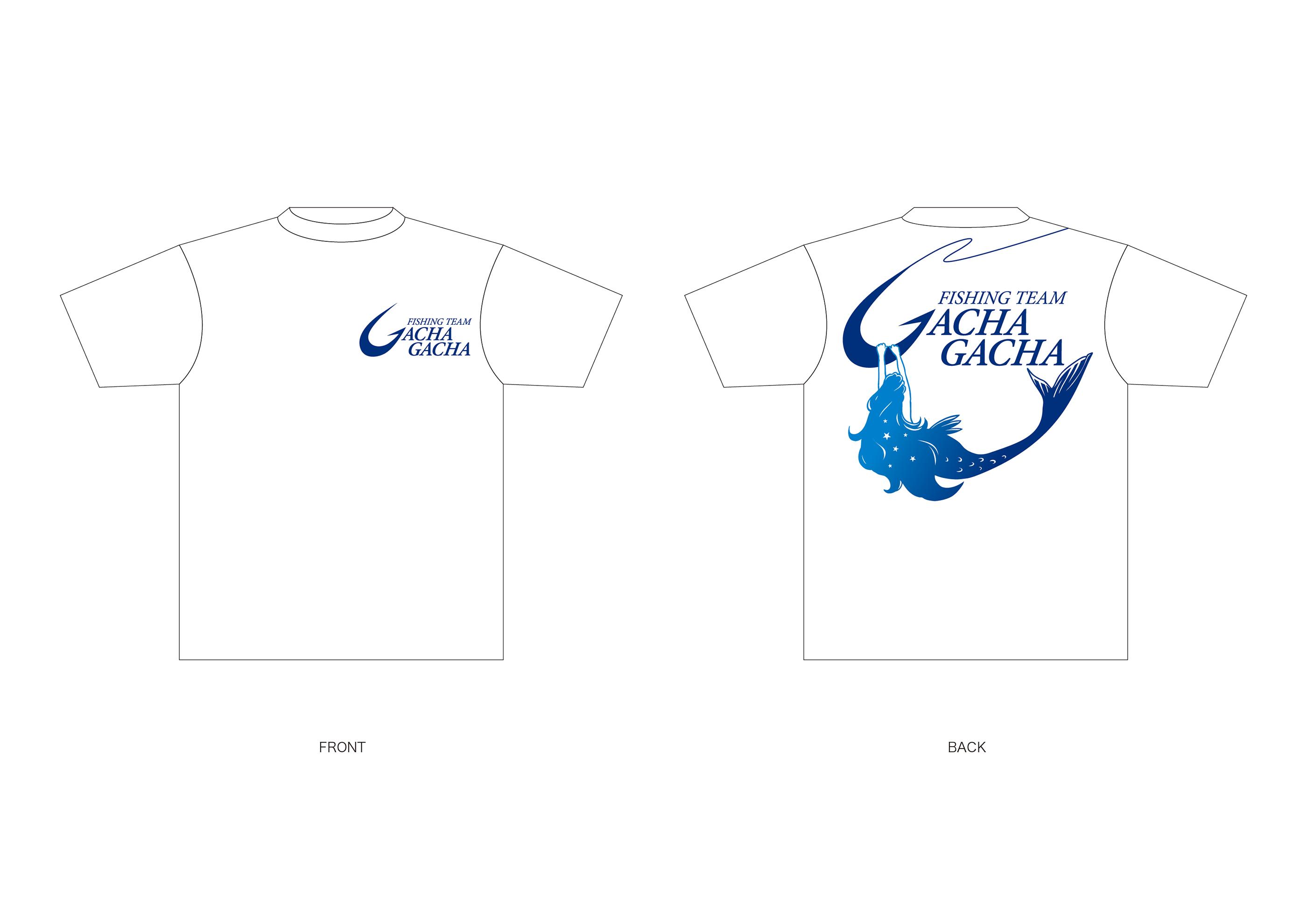フィッシングチーム オリジナルTシャツデザイン