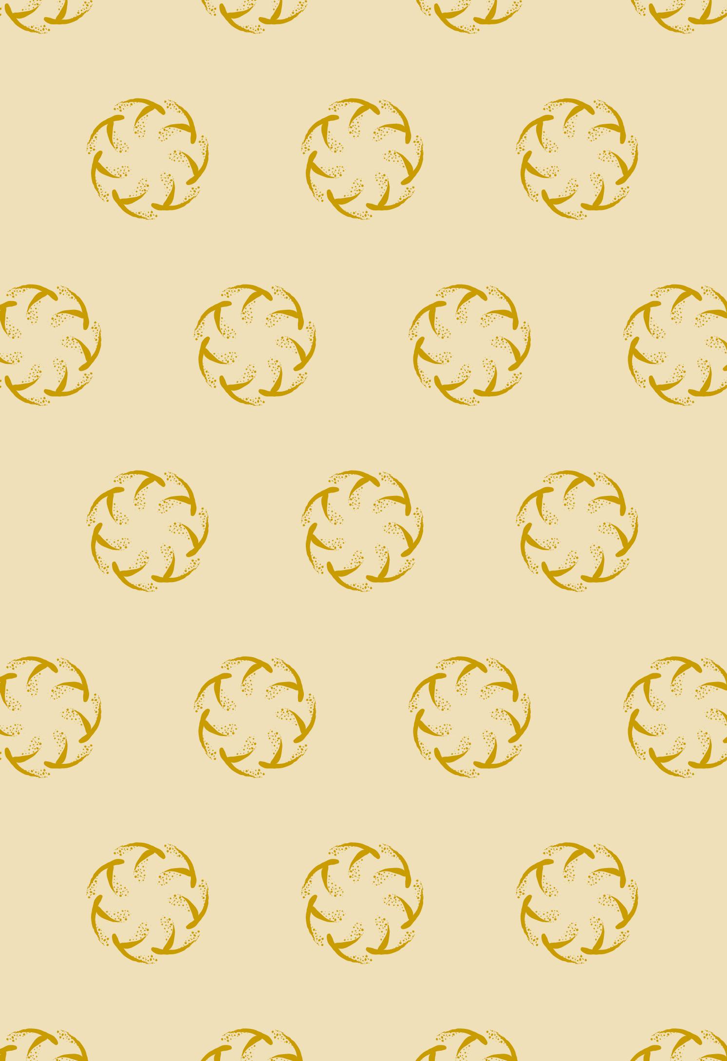 彦根市稲枝地区 物産品 包装紙デザイン