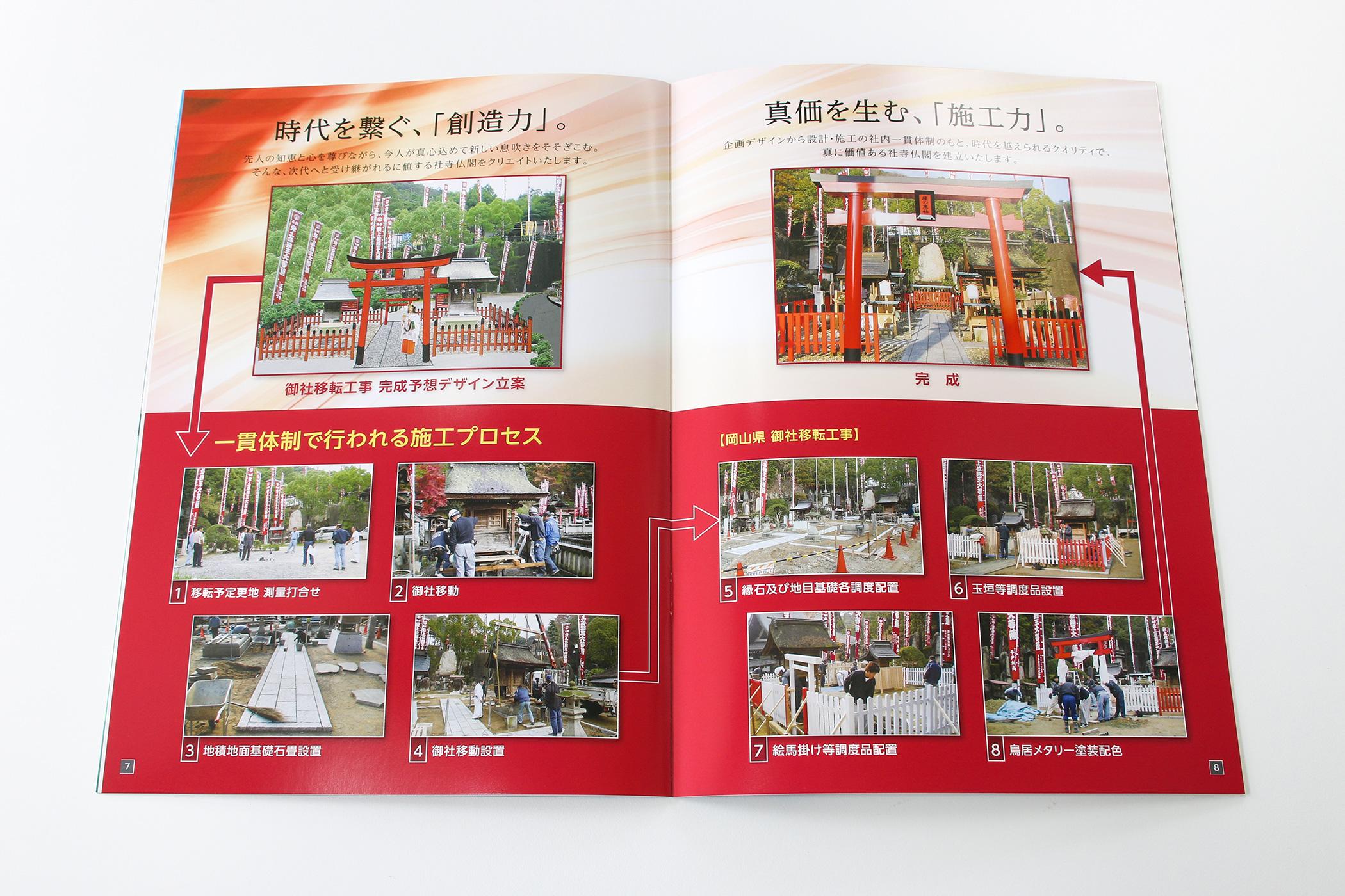 東和クリエイトジャパン株式会社-会社案内-一貫体制の施工プロセス