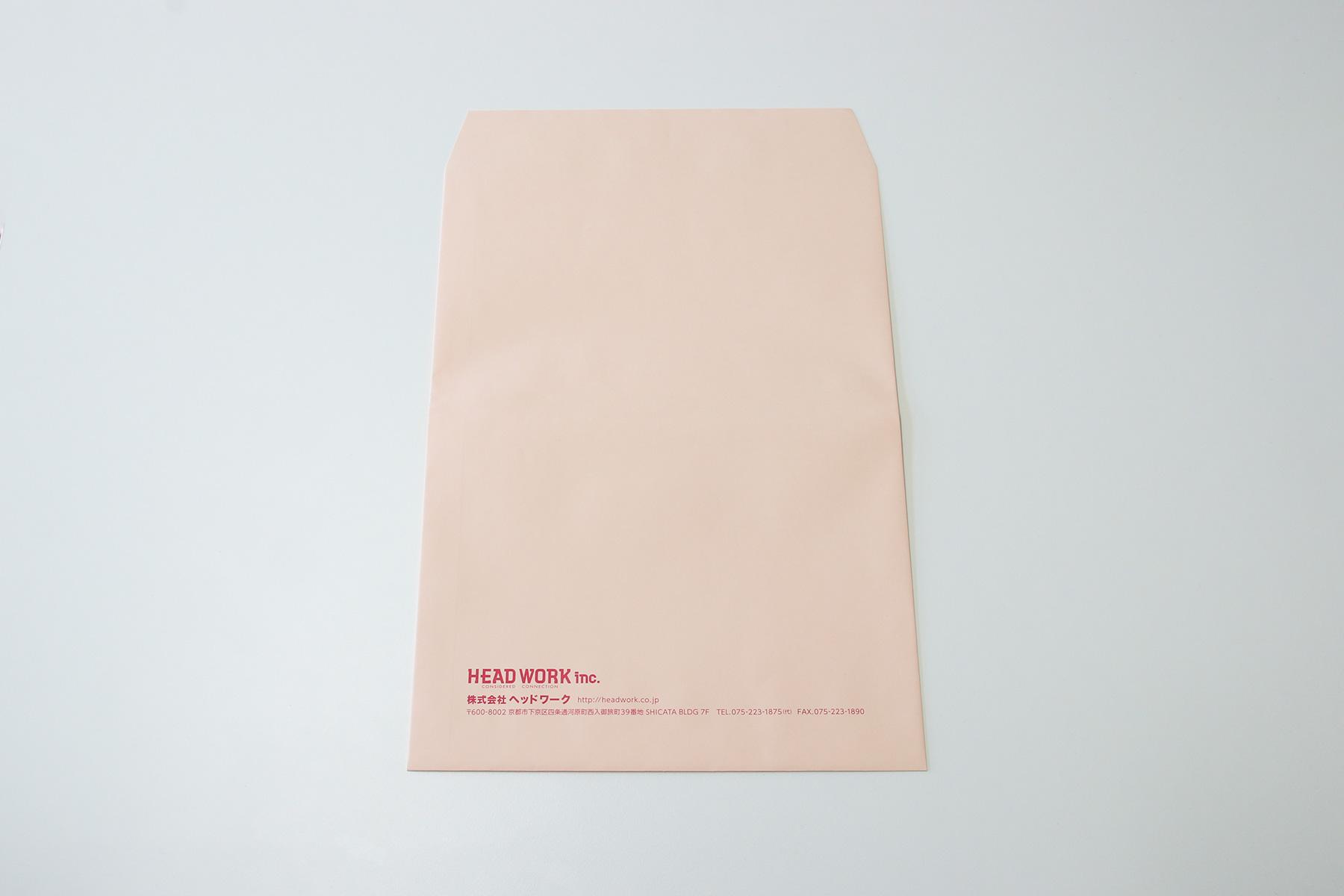 角2封筒 デザイン