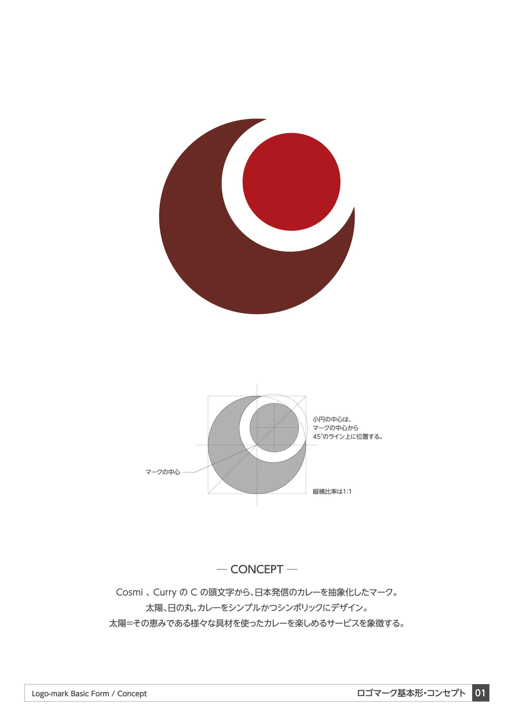 カレー_ブランド_ロゴデザイン VIマニュアル2