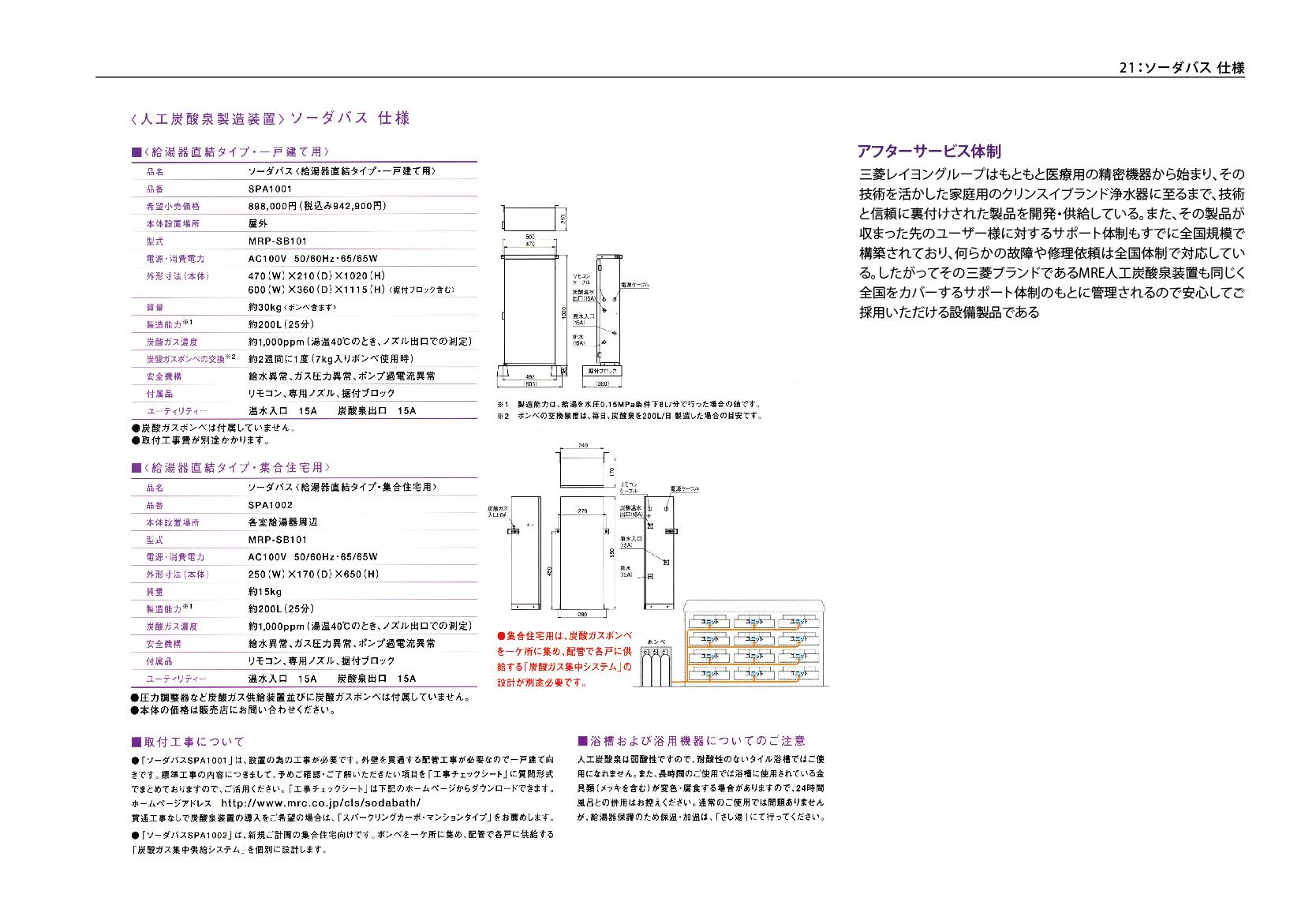 炭酸泉導入ご提案書23