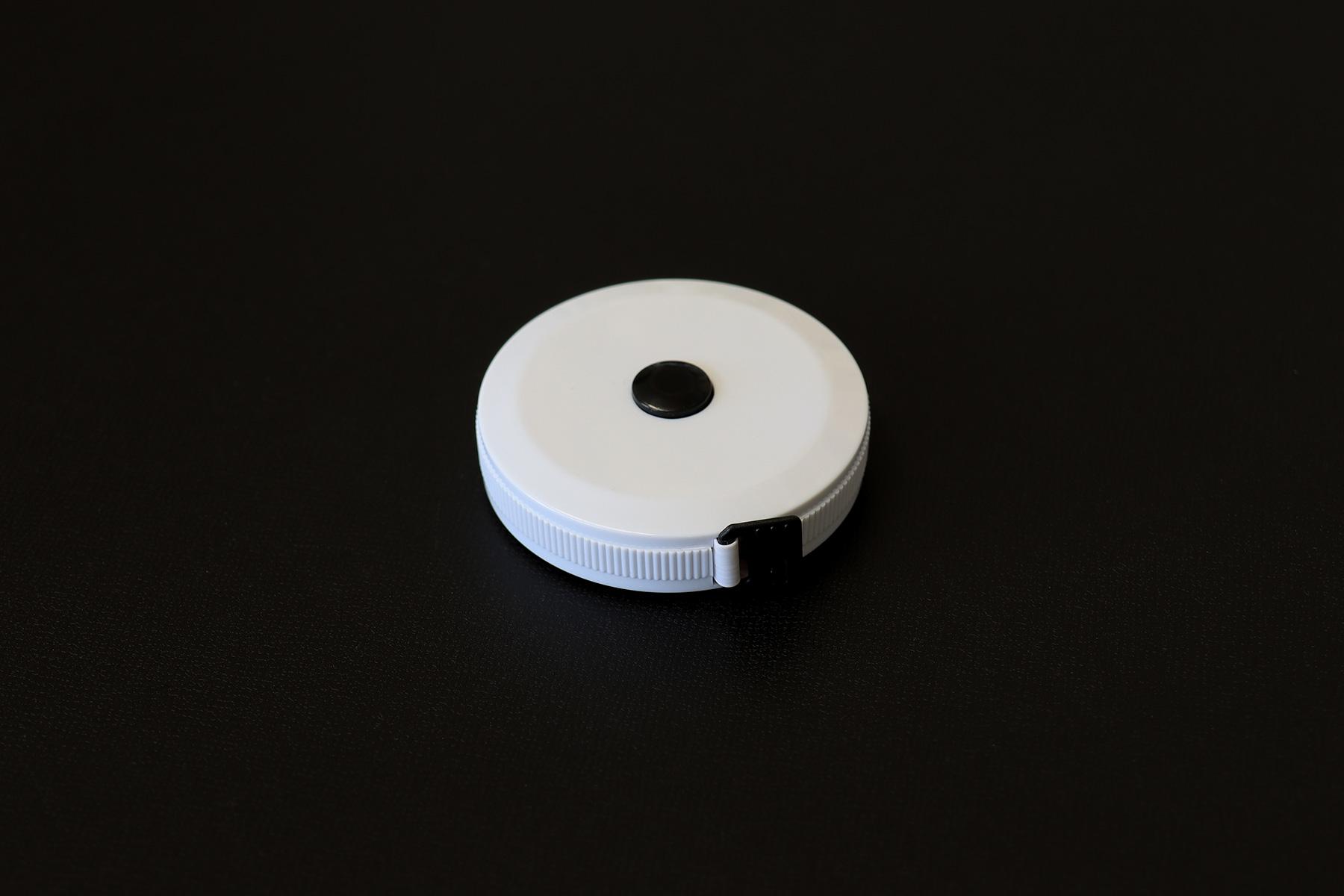 ラウンドメジャー03 収納ボタン